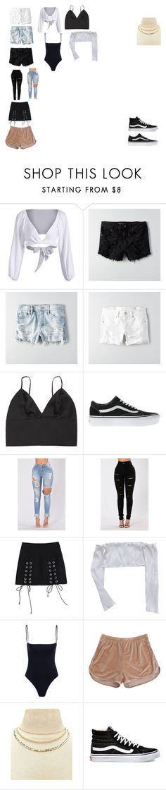 """Untitled #29"" by mccuephil on Polyvore featuring American Eagle Outfitters, Vans and Forever 21"