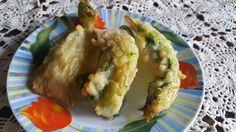 Foglie+di+cavolfiore+pastellate+e+fritte