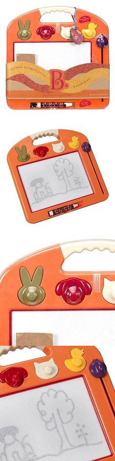 Preschool and Kindergarten 145938: B. Toulouse Laptrec Magnetic Drawing Board - Tangerine Orange -> BUY IT NOW ONLY: $49.88 on eBay!