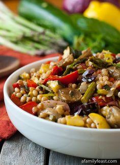 Israeli Couscous Salad on Pinterest | Lettuce Salad Recipes, Green Pea ...