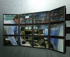 Wall mounted monitors