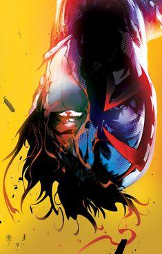 Spider-man 2099 Poster commission by LeoColapietroArt.deviantart.com on @DeviantArt