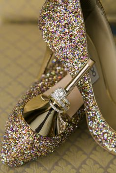 Sparkly shoes, sparkly diamonds!