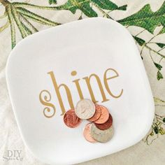 shine vinyl plate decal tutorial at