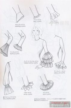 Fashion infographic & data visualisation Sleek–sleevezz Infographic Desc… – Hey You Sleeves Designs For Dresses, Sleeve Designs, Fashion Illustration Sketches, Fashion Sketches, Fashion Terms, Fashion Art, Trendy Fashion, Fashion History, Spring Fashion