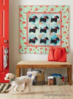 Great Scott quilt pattern by Lisa DeBee Schiller. American Patchwork & Quilting/August 2016 issue.