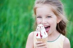 little girl eating ice cream - Google Search