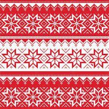 scandinavian christmas patterns - Google Search