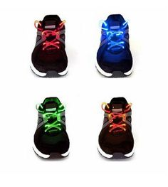 4-Pack LED Shoelaces - Save 73% Just $16.00