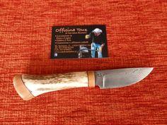 coltello artigianale in damasco