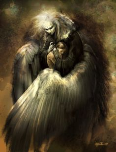 You're a lost soul in an angels disguise.... but even knowing that there is no place I'd rather be than in your arms.
