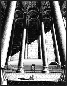 I am reading The Wind Through the Keyhole, and deep into a Dark Tower frame of mind. I recalled one of my favorite Dark Tower inspired pen and inks from. The Cradle of Blaine the Mono Dark Tower Art, The Dark Tower Series, Dark Fantasy, Fantasy Art, La Tour Sombre, Roland Deschain, Steven King, Magnum Opus, Love Art