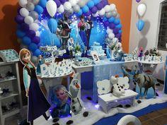 #Decoração #Frozen confira mais alguns trabalhos acessando nossa site ou pagina no facebook www.arteemfotoefe...