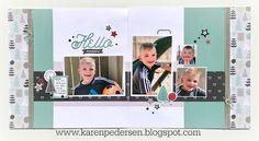 Karen Pedersen: Boy Layout with our Street