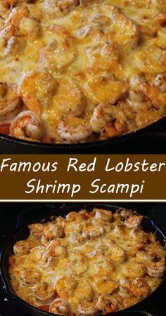 Copycat Recipes, Keto Recipes, Dinner Recipes, Seafood Appetizers, Seafood Recipes, Red Lobster Shrimp, Shrimp Scampi Pasta, Italian Pasta Recipes, Fish And Seafood