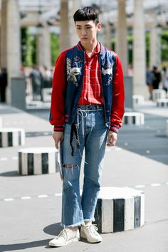 Best street style from Paris Men's Fashion Week SS17 — Day 2