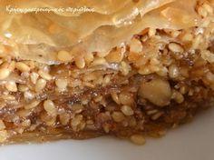 1-DSC_0392 Eat Greek, Greek Sweets, Greek Recipes, Oatmeal, Pie, Breakfast, Ethnic Recipes, Desserts, Food