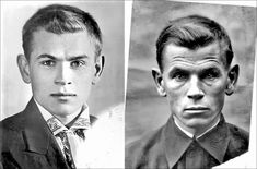 In 1941, the photo on the left was taken of Soviet soldier Eugen Stepanovich Kobytev on the day he left to go to war. The photo on the right was taken in 1945 after the end of the war, just 4 years apart. Rare Historical Photos, Autumn Rain, Joining The Army, People Poses, Romantic Photos, Second World, Tom Cruise, New Artists, Vintage Photos