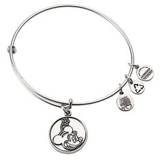 Minnie Mouse Bangle By Alex And Ani Silver Bracelets Jewelry Bangles Fashion