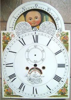 Longcase Clock and Antique Grandfather Clock Dial Restoration