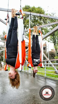 Aerial Yoga by AeroYoga® (YogaSwing) #acrobatico #yogaaereo #AERIALYOGA…