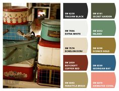 Vintage (Paint Colors From Chip It! By Sherwin Williams)
