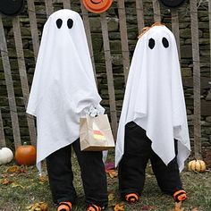 DIY Halloween : DIY Ghostly Trick-or-Treaters