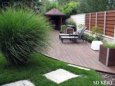* Csináld magad kertépítés *: Kertépítés ötletek, megoldások Pallet Furniture, Outdoor Furniture Sets, Outdoor Decor, Outdoor Gardens, Garden Design, Pergola, Deck, Home And Garden, Backyard