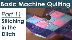 A complete step-by-step visual guide from teacher and master machine quilter Lynn Witzenburg that takes quilters through the basic steps of quilting on a hom...