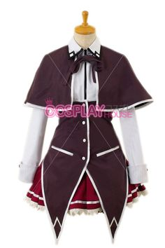 HighSchool DxD Cosplay -- Rias Gremory Cosplay Costume Version 01
