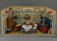 Fabulous Kitchen Room, from Carmel Doll Shop.