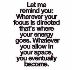 Pick your focus!