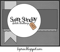 the sweetest thing...: Sweet Sunday Sketch Challenge 167