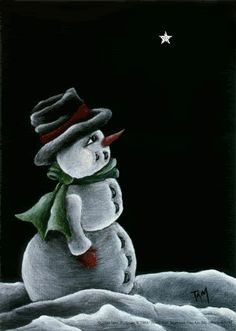 Snowman photo by jade95_2010 on imgfave