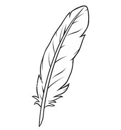 Feather Vector Images (over Feather Drawing, Watercolor Feather, Feather Art, Feather Tattoos, Feather Template, Feather Vector, Leather Carving, Leather Tooling, Buddha Flower