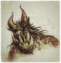 9 #Krampus #Christmas #monster #design #ink #sketch #watercolor #pencil #HappyHolidays #art #artist #creature