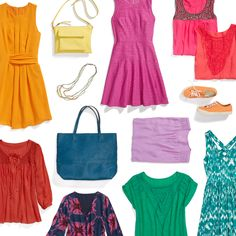 Dear Stitch Fix Stylist- Look on the bright side. From citrus to fuchsia, pair the season's vibrant hues with crisp neutrals. Love the brights for summer! Cool Outfits, Fashion Outfits, Fashion Trends, Runway Fashion, Casual Outfits, Women's Fashion, Fuchsia Dress, Pink Dresses, Stitch Fix Outfits