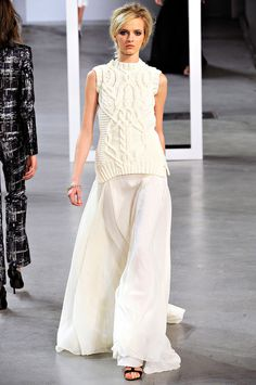 My favorite look from Derek Lam : Fall, 2012 (via Vogue, Photo: Marcio Madeira/firstVIEW)