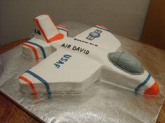 F-16 Fighter Jet Cake