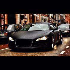 Mean Matte Black Audi R8