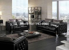 2017 Free Shipping to POZNAN Modern Top Fashion Sofas For Living Room Sofa Set Living Room Furniture With Genuine Leather Sofa