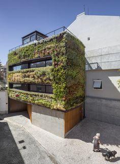 House In Travessa Do Patrocínio  Lisbon, Portugal  Designed by Luís Rebelo de Andrade, Tiago Rebelo de Andrade, Manuel Cachão Tojal