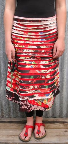 Sew Outside the Lines™ with Jody Pearl: Splice Skirt Photoshoot with a Twist...
