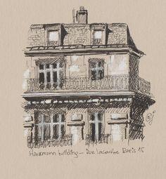 Haussman building - rue lacourbe 75015