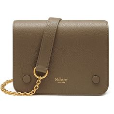 Mulberry Small Clifton ($845) ❤ liked on Polyvore featuring bags, handbags, shoulder bags, accessories, clay, mulberry handbags, camouflage handbags, brown crossbody purse, mulberry purse and chain shoulder bag