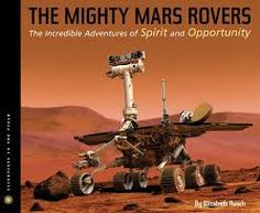 What looks like something out of Star Wars and was named by a nine-year-old girl? Yes, the Mars rovers: Spirit and Opportunity. This book won multiple awards for balancing the scientific facts with the stories of the scientists themselves. It's a compelling read aloud for grades 3 and up.