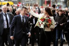 Queens & Princesses - Prince Frederik and Princess Mary began a three-day visit to Germany to accompany a delegation of Danish entrepreneurs in Hamburg and Munich.