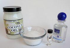 DIY Coconut-Salt Foot and Body Scrub in Chic and Crafty, Crafts, DIY, DIY Beauty Treatments