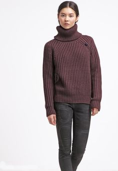 G-Star AVE TURTLE KNIT L/S - Jumper - dk fig for £80.00 (10/11/15) with free delivery at Zalando