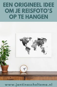 Een origineel idee om je reisfoto's op te hangen in combi met een wereldkaart.  #wereldkaart #fotografie Travel Presents, Traveling By Yourself, Travel Tips, Blog, Seeds, Travel Advice, Blogging, Travel Hacks